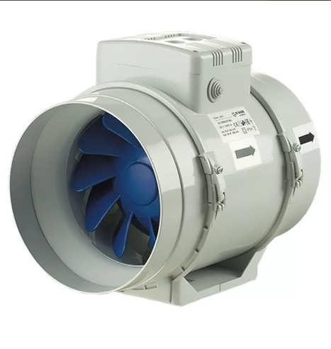 вентиляторы в воздуховоде