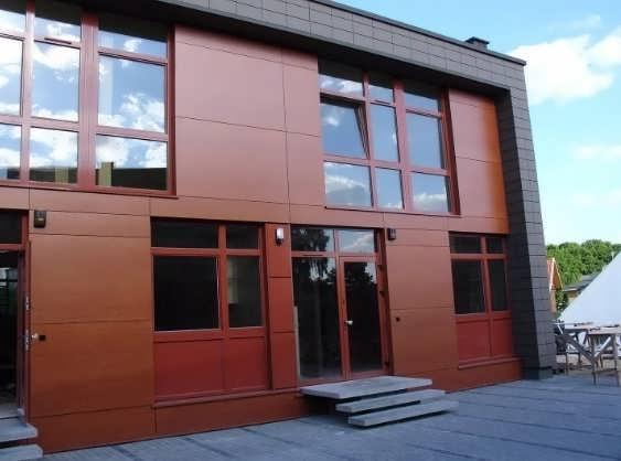 здание с вентилируемым фасадом