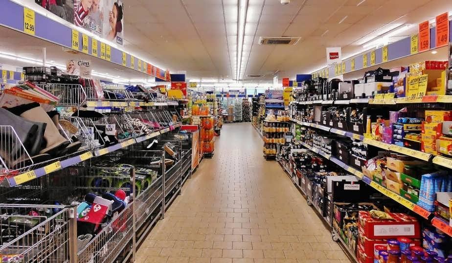 вентиляция в супермаркете