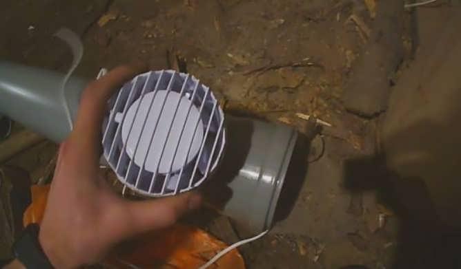 Вытяжка с вентилятором